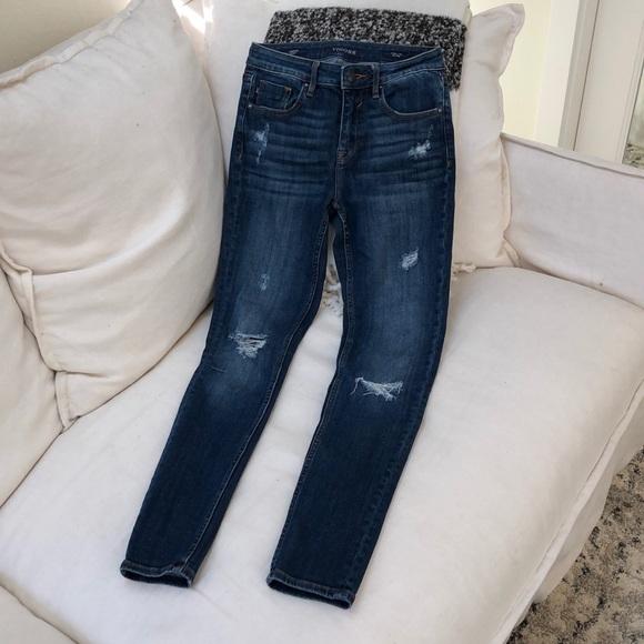 Vigoss Denim - VIGOSS 'Jagger Skinny Mid Rise' Jeans